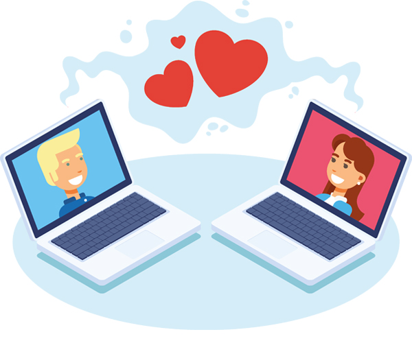 Internet dating geen vonk